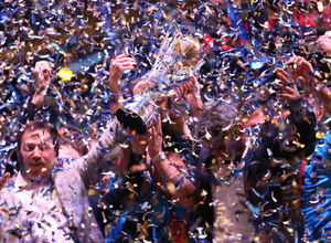 Ankaragücü şampiyonluk kutlamaları....