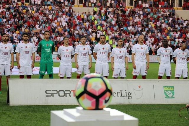 Gaziantepspor - Galatasaray mücadelesinden kareler...