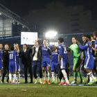 Chelsea şampiyonluğu kutladı