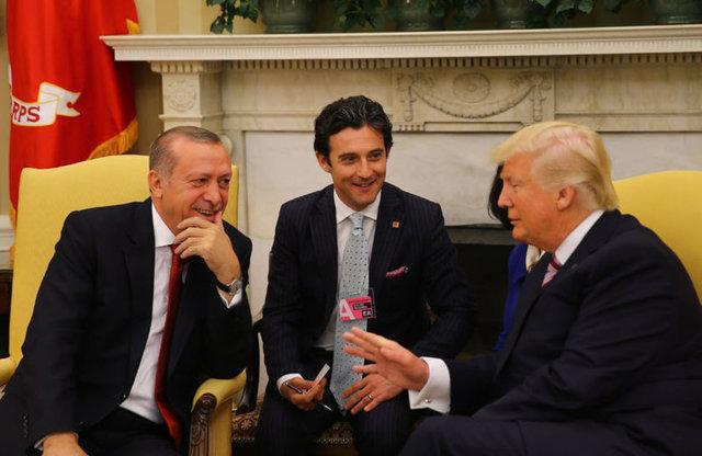 ABD Başkanı Trump ve Cumhurbaşkanı Erdoğan bir arada... İşte tarihi anlardan kareler...