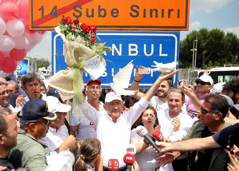 <p><strong>KILIÇDAROĞLU'NUN YÜRÜYÜŞÜNÜN 23. GÜNÜ</strong></p>\n<p></p>\n<p>CHP lideri 23. günde İstanbul'a giriş yaptı.</p>