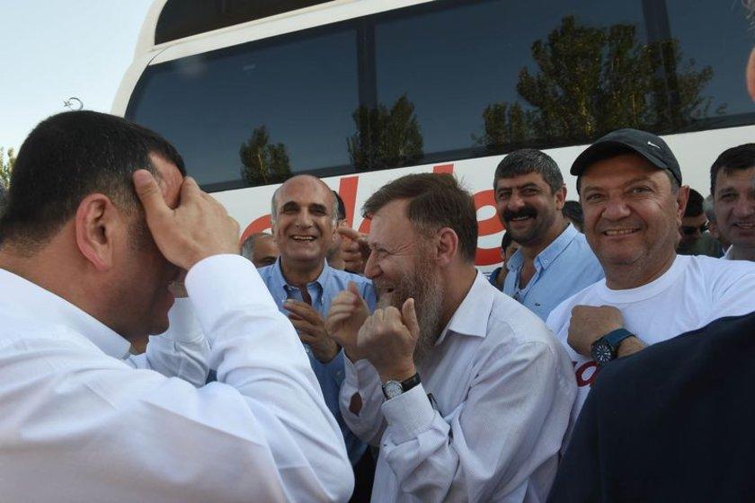 <p><strong>YÜRÜYÜŞTE DİKKAT ÇEKEN İSİMLER...</strong> CHP Genel Başkanı Kemal Kılıçdaroğlu'nun \