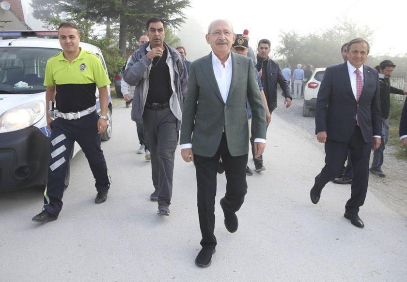 <p><strong>KILIÇDAROĞLU'NUN YÜRÜYÜŞÜNÜN 11. GÜNÜ</strong></p>\n<p>CHP lideri, yürüyüşün 11. gününde bayram kutlamalarına katıldı.</p>