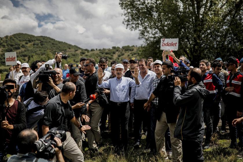 <p><strong>KILIÇDAROĞLU'NUN YÜRÜYÜŞÜNÜN 5. GÜNÜ</strong></p>\n<p>CHP Genel Başkanı Kılıçdaroğlu, \
