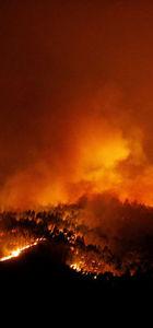 Portekiz'deki orman yangını
