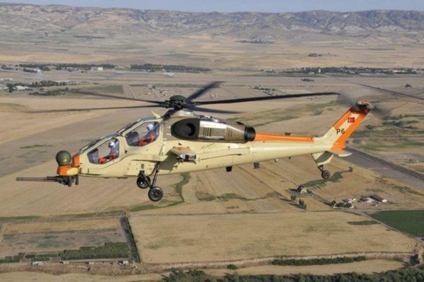 <p>T129 Taarruz ve Taktik Keşif Helikopteri - TUSAŞ</p>