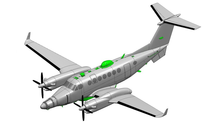 <p>Beechcraft - King Air 350 - ABD</p>