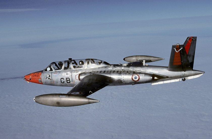 <p>Fouga CM.170 Magister - FRANSA</p>