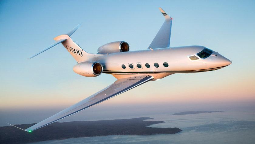 <p>Gulfstream G500 - ABD</p>
