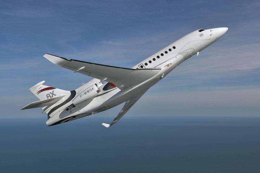 <p>Dassault Falcon 8X - FRANSA</p>