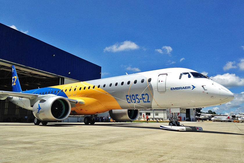 <p>Embraer E195-E2 - BREZİLYA</p>