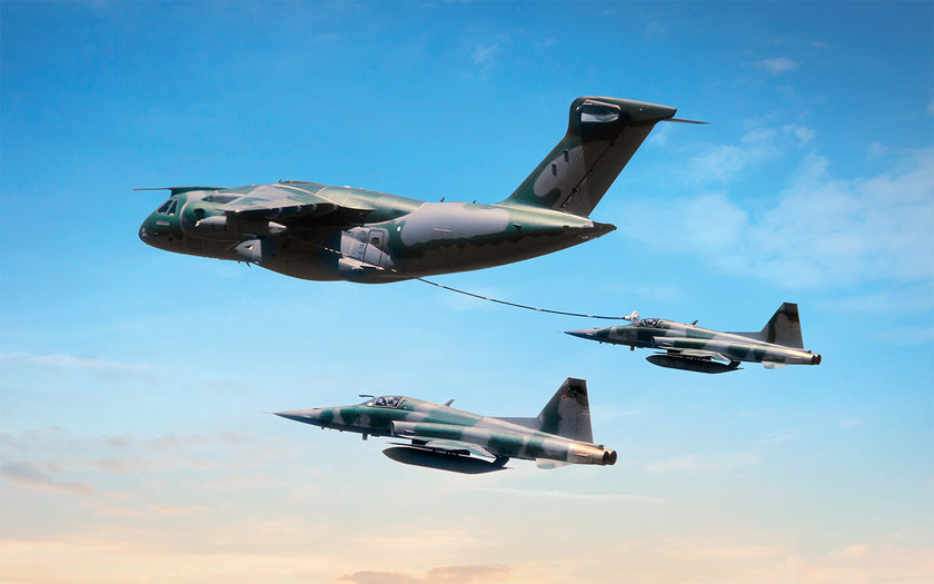 <p>Embraer KC-390 - BREZİLYA</p>