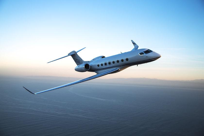 <p>Gulfstream G650 - ABD</p>
