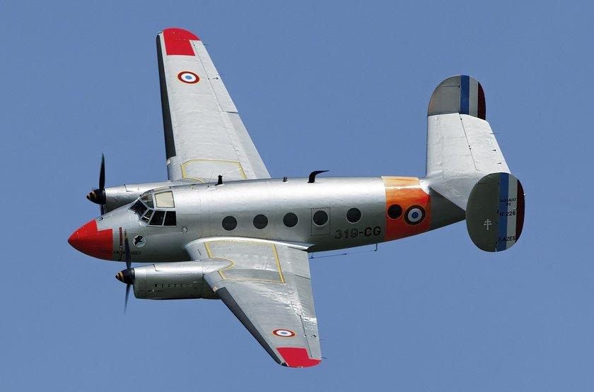<p>Dassault MD 312 Flamant - FRANSA</p>