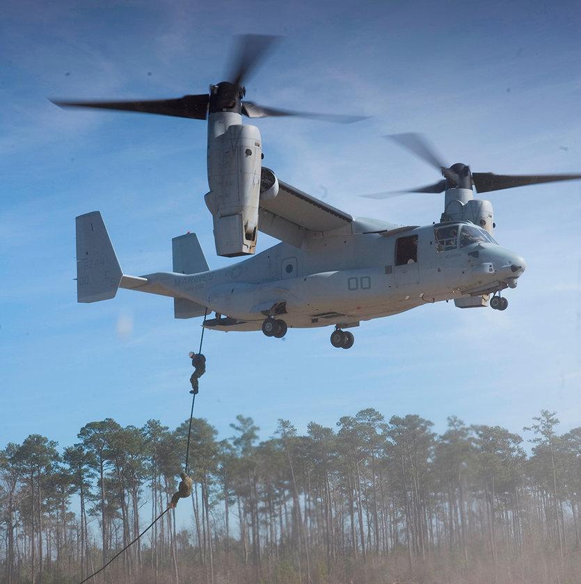 <p>Boeing / Bell Helicopter - V-22 Osprey - ABD</p>