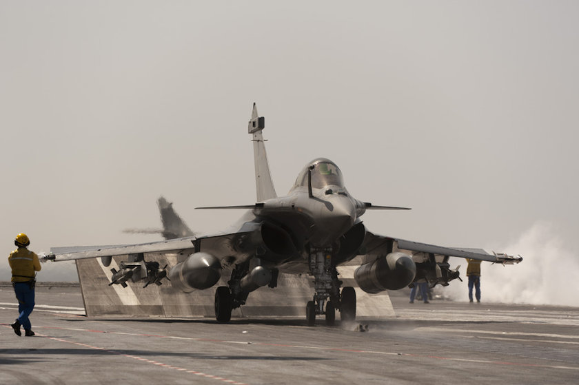 <p>Dassault Rafale M - FRANSA</p>