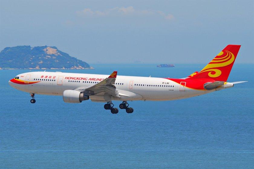 <p>24 - HONG KONG AIRLINES</p>\n<p>(Hong Kong)</p>