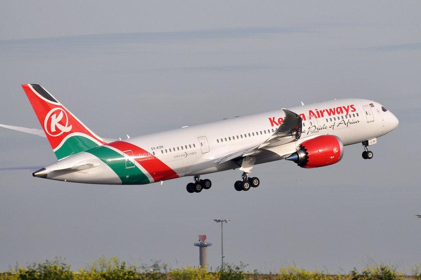 <p>91 - KENYA AIRWAYS</p>\n<p>(Kenya)</p>