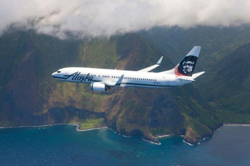 <p>36 - ALASKA AIRLINES</p>\n<p>(Alaska)</p>