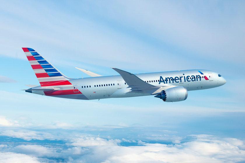 <p>74 - AMERICAN AIRLINES</p>\n<p>(Amerika)</p>