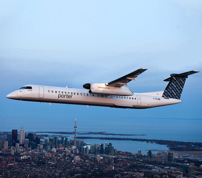 <p>55 - PORTER AIRLINES</p>\n<p>(Kanada)</p>