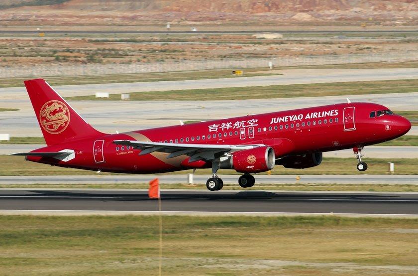 <p>83 - JUNEAYO AIRLINES</p>\n<p>(Çin)</p>