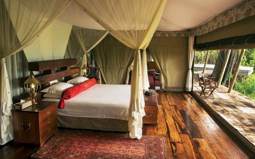 <p>11. Zarafa Camp, Selinda, Botsvana</p>