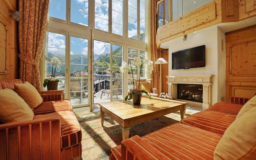 <p>38. Mont Cervin Palace, Zermatt, İsviçre</p>
