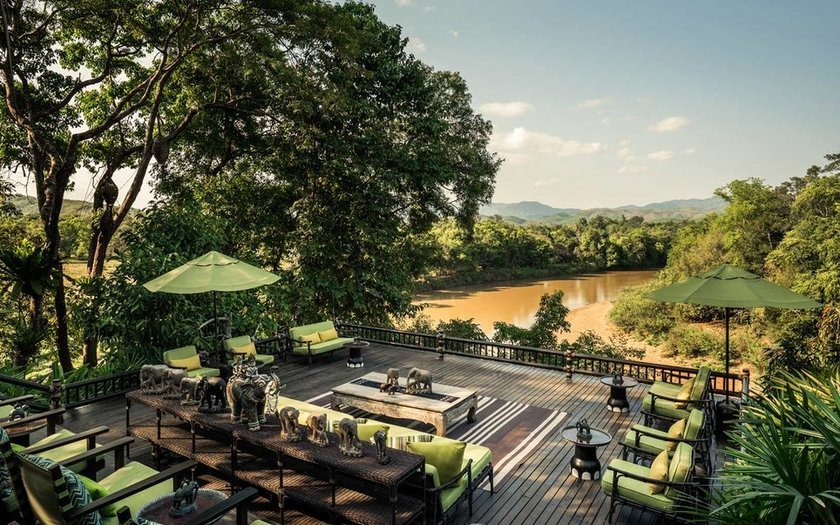 <p>31. Four Seasons Tented Camp Golden Triangle, Chiang Rai, Tayland</p>