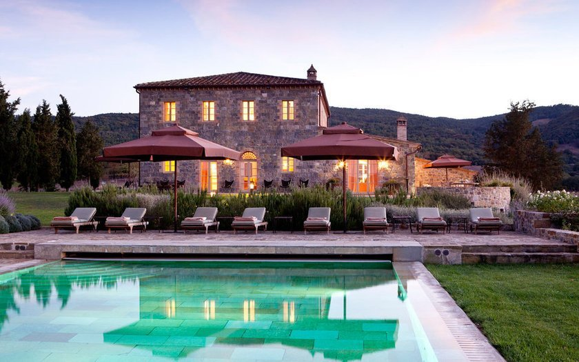 <p>33. Rosewood Castiglion del Bosco, Montalcino, İtalya</p>