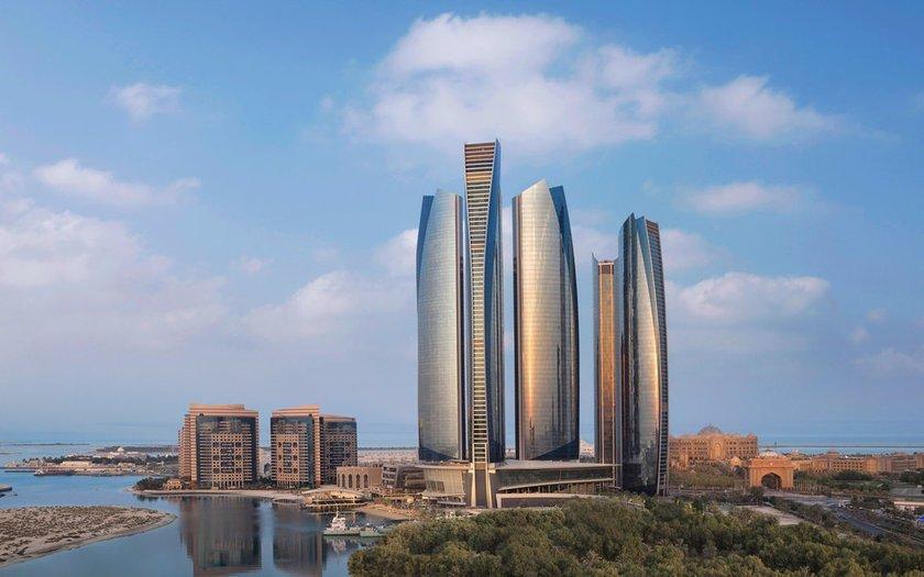 <p>71. Jumeirah (Etihad Kuleleri),Abu Dhabi, Birleşik Arap Emirlikleri</p>