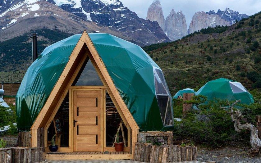 <p>32. EcoCamp Patagonia, Torres del Paine Milli Parkı, Şili</p>