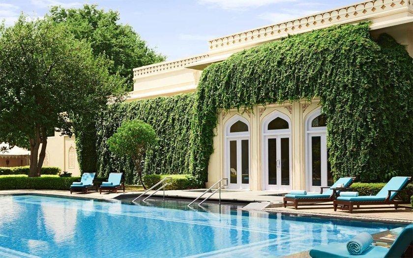 <p>43. Rambagh Palace, Jaipur, Hindistan</p>