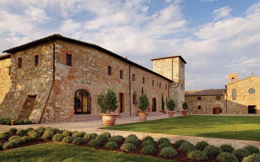 <p>22. Castello di Casole, Casole d'Elsa, İtalya</p>