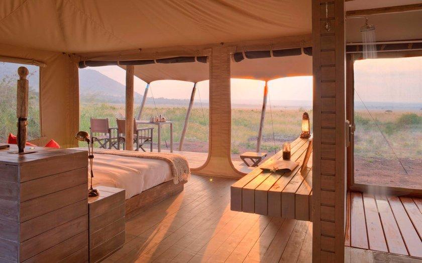 <p>21. andBeyond Kichwa Tembo Tented Camp, Masai Mara, Kenya</p>