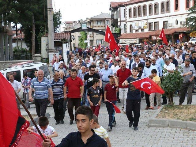 FETÖ'nün 15 Temmuz darbe girişiminin birinci yılında, 15 Temmuz Demokrasi ve Milli Birlik Günü Anma Töreni kapsamında tüm yurtta etklinlikler düzenlendi.