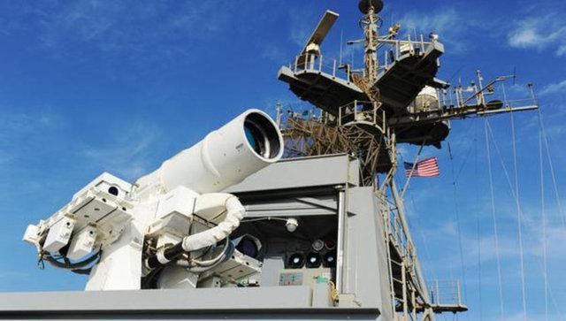 CNN International'ın haberine göre, ABD donanması Basra Körfezi'nde LaWS adı verilen lazer silahını İnsansız Hava Aracı (İHA) üzerinde denedi.