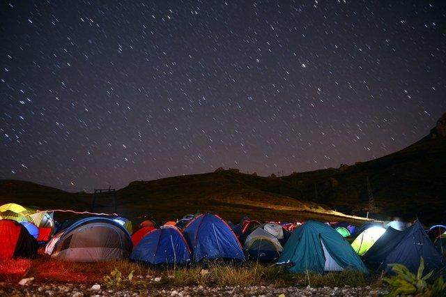 ANTALYA'da bu yıl 20'ncisi düzenlenen TÜBİTAK Ulusal Gökyüzü Gözlem Şenliği, renkli görüntülere sahne oldu.