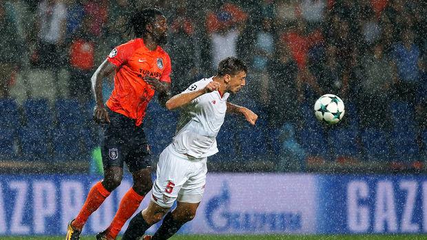 Başakşehir - Sevilla maçı fotoğrafları