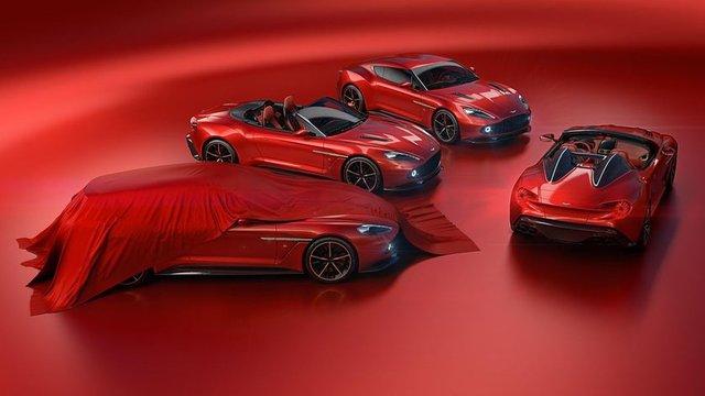 Aston Martin Vanquish Zagato, 28 adet üretilecek speedster ve bir ilk olan station wagon modelinin yanı sıra coupe ve Volante modellerini tanıttı