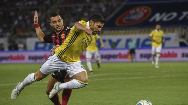 Vardar - Fenerbahçe maçı fotoğrafları
