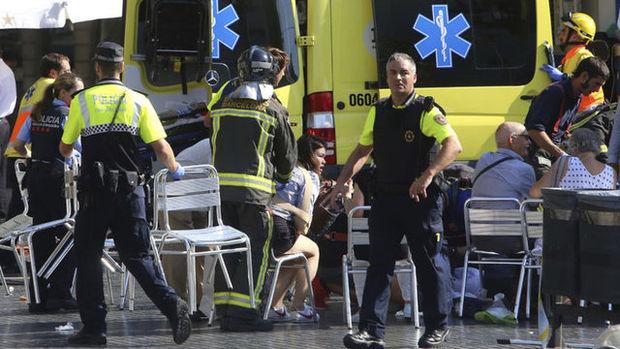 Barcelona'da terör saldırısı! 13 ölü en az 100 yaralı