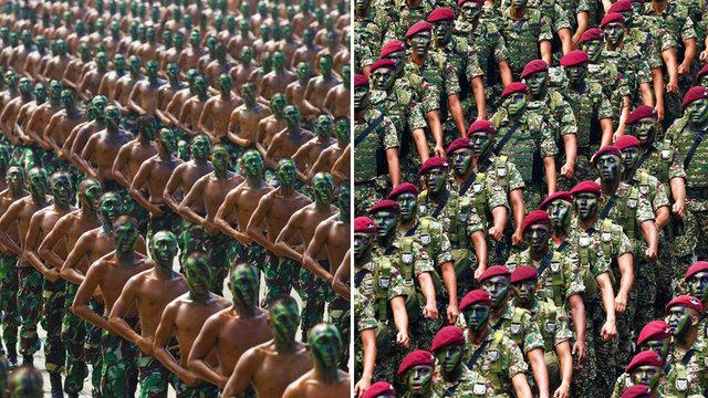 İşte son verilere göre dünyanın en güçlü 50 ordusu...