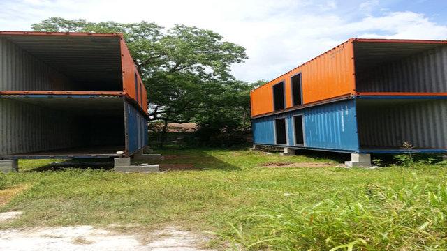 İşte konteyner ile yapılmış muhteşem evler...
