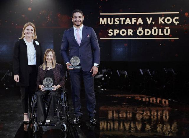 Mustafa V. Koç Spor Ödülleri sahiplerini buldu