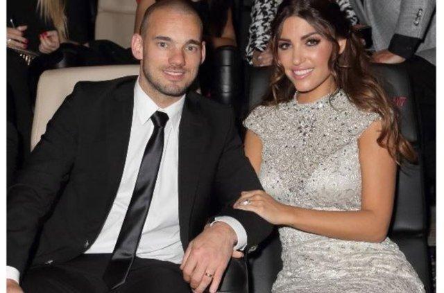 Galatasaray'ın sezon başında takımdan ayrılan Hollandalı yıldızı Wesley Sneijder'in eşi Yolanthe Cabau'nun Fransa'nın Nice şehrinde mutsuz olduğu öğrenildi.