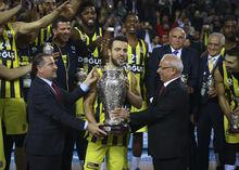 Fenerbahçe Doğuş kupayı böyle aldı!