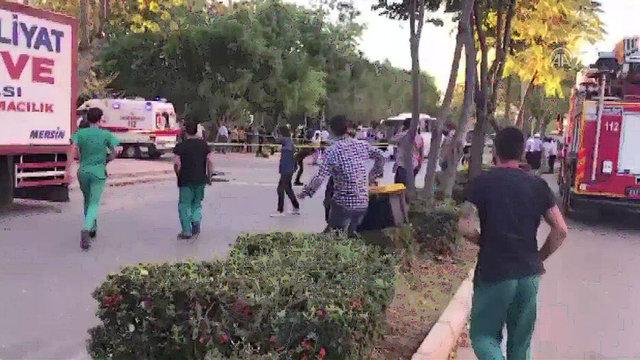 Mersin'de polis servis aracına bombalı saldırı düzenlendi. Saldırıda 17 kişi yaralandı. Olay yerine çok sayıda ekip sevk edildi. İşte olay yerinden gelen kareler...