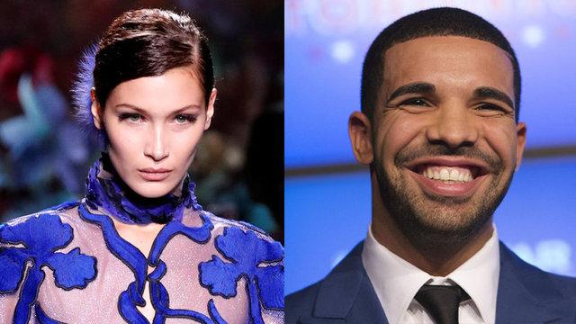 Süper model Bella Hadid ve Kanadalı rapçi Drake'in 4 aydır birlikte olduğu belirtildi.