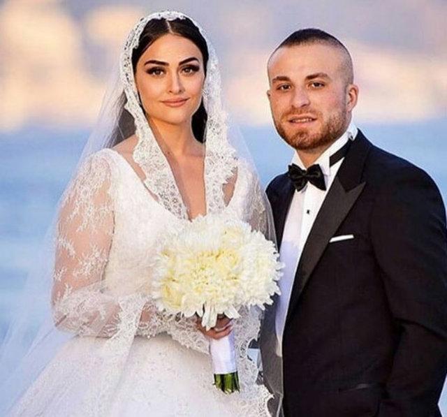 Beşiktaşlı futbolcu Gökhan Töre, dizi oyuncusu Esra Bilgiç ile dünya evine girdi.